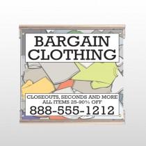 Bargain Bin 532 Track Sign