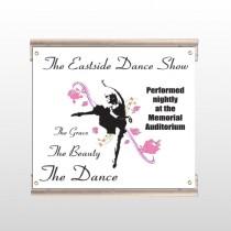Ballet Dance 517 Track Sign
