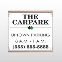 Car Park 122 Track Sign