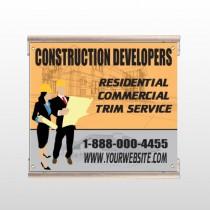 Contractors 645 Track Sign