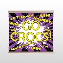 Crocs 42 Track Sign