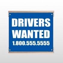 Drivers Wanted 314 Track Sign