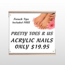 Floral Pedicure 293 Track Sign