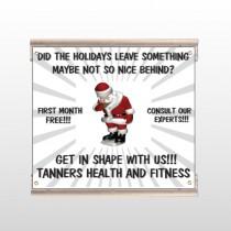 Health Santa 402 Track Sign