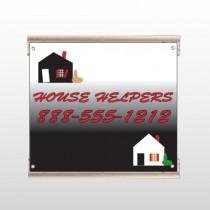 Househelper 245 Track Sign