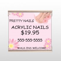 Nail Salon 291 Track Sign