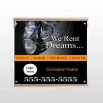 Rent Dreams 109 Track Sign