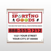 Sporting Goods 528 Track Sign
