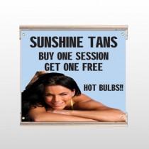 Sunshine Tans 297 Track Sign