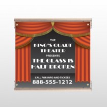 Theatre Curtains 521 Track Sign