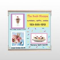 Ice Cream 374 Track Sign