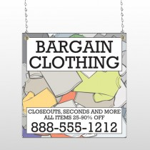 Bargain Bin 532 Window Sign