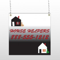 Househelper 245 Window Sign
