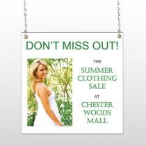 Summer Sale 533 Window Sign