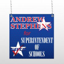 Superintendent 306 Window Sign
