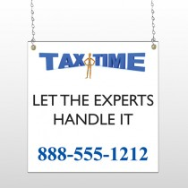 Tax Time 171 Window Sign