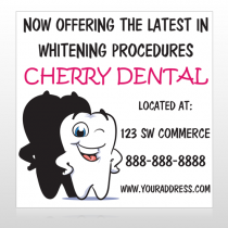 Winking Tooth 501 Custom Banner