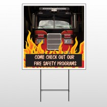Safety Program 427 Wire Frame Sign