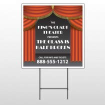 Theatre Curtains 521 Wire Frame Sign