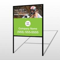 Bike Insurance 110 H Frame Sign