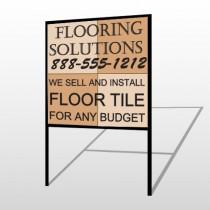 Flooring 247 H Frame Sign