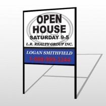 House Emblem 857 H-Frame Sign