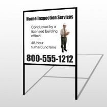 Inspection 360 H-Frame Sign