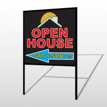 Open Moon Roof 726 H-Frame Sign