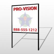 Property Management 363 H-Frame Sign