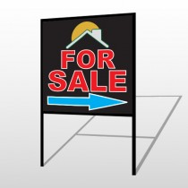 Moon Roof 725 H-Frame Sign