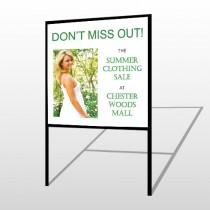 Summer Sale 533 H Frame Sign