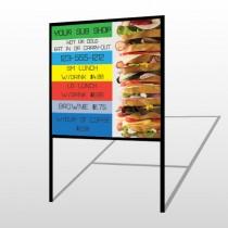 Sandwich 375 H Frame Sign