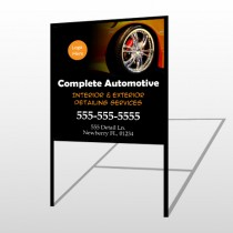 Detailing Services 115 H Frame Sign