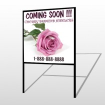 Pinkrose Hidden Ring 399 H Frame Sign