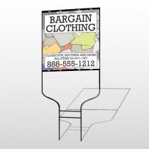Bargain Bin 532 Round Rod Sign