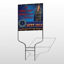 Amp Morning Show 439 Round Rod Sign