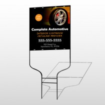 Detailing Services 115 Round Rod Sign