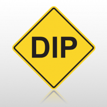 Dip 10107 Road Sign