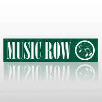 Music 220 Street Sign