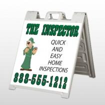 Inspector 361 A Frame Sign