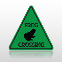 Frog 1050 Floor Decal Triangle