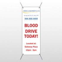 Blood Drive 97 Flex Banner Stand