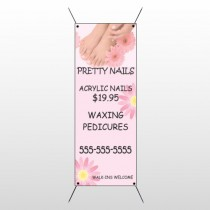Nail Salon 291 Flex Banner Stand