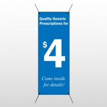 Pharmacy 102 Flex Banner Stand