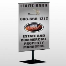 Bar 362 Center Pole Banner Stand