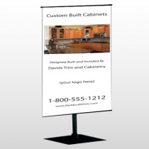 Cabinet 241 Center Pole Banner Stand