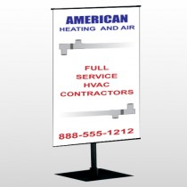 Construction 252 Center Pole Banner Stand