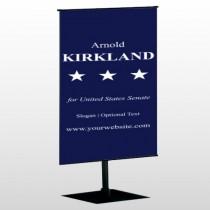 Senate 134 Center Pole Banner Stand