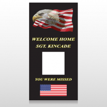 Eagle Flag 307 Custom Decal
