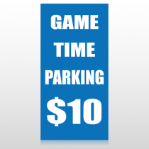 Parking 123 Custom Sign